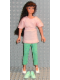 Minifig No: 71713  Name: Scala Doll (Andrea from set 3203 with clothes)
