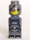 Minifig No: 85863pb027  Name: Microfigure Magma Monster Dark Bluish Gray