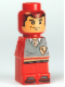 Minifig No: 85863pb039  Name: Microfig Hogwarts Gryffindor House Player