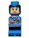 Minifig No: 85863pb041  Name: Microfig Hogwarts Ravenclaw House Player