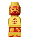 Minifig No: 85863pb045  Name: Microfig Atlantis Treasure King Trident
