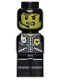 Minifig No: 85863pb074  Name: Microfig City Alarm Police Officer