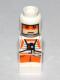 Minifig No: 85863pb076  Name: Microfigure Star Wars Rebel Pilot