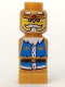 Minifig No: 85863pb093  Name: Microfigure Heroica King