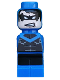 Minifig No: 85863pb103  Name: Microfig Batman Nightwing