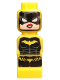 Minifig No: 85863pb104  Name: Microfig Batman Batgirl
