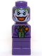Minifig No: 85863pb106  Name: Microfig Batman The Joker