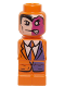 Minifig No: 85863pb107  Name: Microfig Batman Two-Face