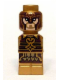 Minifig No: 85863pb112  Name: Microfigure Lord of the Rings King Theoden