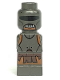 Minifig No: 85863pb119  Name: Microfigure Lord of the Rings Uruk-Hai Swordsman