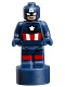 Minifig No: 90398pb002  Name: Captain America Statuette / Trophy