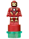 Minifig No: 90398pb004c01  Name: Iron Man Statuette / Trophy