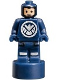Minifig No: 90398pb006  Name: SHIELD Agent Statuette
