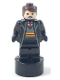 Minifig No: 90398pb027  Name: Gryffindor Student Statuette / Trophy #1, Reddish Brown Hair