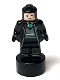 Minifig No: 90398pb038  Name: Slytherin Student Statuette / Trophy #3, Light Flesh Face