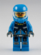 Minifig No: ac001  Name: Alien Defense Unit Soldier 1 - Dark Bluish Gray Hips