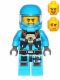 Minifig No: ac009  Name: Alien Defense Unit Soldier 4