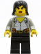 Minifig No: adv002  Name: Alexis Sanister
