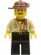 Minifig No: adv010  Name: Johnny Thunder (Desert)