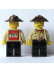 Minifig No: adv010a  Name: Johnny Thunder (Desert) with LEGO Logo on Back