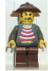 Minifig No: adv019  Name: Mr Cunningham with Brown Legs and Black Hips