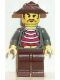 Minifig No: adv020  Name: Mr Cunningham with Brown Legs