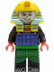 Minifig No: adv021  Name: Pharaoh Hotep