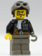 Minifig No: adv036  Name: Lord Sam Sinister with Aviator Cap and Goggles