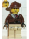 Minifig No: adv037  Name: Johnny Thunder with Tan Legs with Pockets and Black Hands