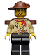 Minifig No: adv041  Name: Johnny Thunder (Desert) with Backpack