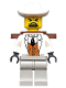 Minifig No: adv043  Name: Señor Palomar with Backpack (Senor Palomar)