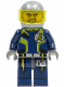 Minifig No: agt006  Name: Agent Charge - Helmet