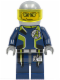 Minifig No: agt009  Name: Agent Fuse - Helmet