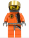 Minifig No: agt012  Name: Gold Tooth - Helmet