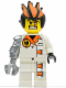 Minifig No: agt013a  Name: Dr. Inferno (Metallic Silver Claw)