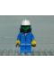 Minifig No: airbl001  Name: Jacket Blue - Blue Legs, White Fire Helmet, Airtanks, Black Breathing Hose