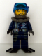 Minifig No: alp017a  Name: Dash with Black Flippers, Mission Deep Sea