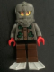 Minifig No: aqu012a  Name: Stingray 1 with Light Gray Flippers