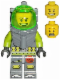 Minifig No: atl002a  Name: Atlantis Diver 2 - Bobby