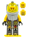 Minifig No: atl016  Name: Atlantis Diver 1 - Axel - With Yellow Flippers and Trans-Yellow Visor