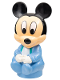 Minifig No: baby006  Name: Primo Figure Baby Mickey Mouse with Blue Clothing