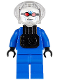 Minifig No: bat011i  Name: Mr. Freeze, Blue