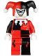 Minifig No: bat026  Name: Harley Quinn - White Hands
