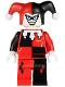 Minifig No: bat026  Name: Harley Quinn - White Hands