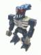 Minifig No: bio013  Name: Bionicle Mini - Barraki Takadox with Horns