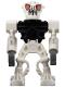 Minifig No: bio014  Name: Bionicle Mini - Barraki Pridak (Black Torso)