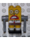 Minifig No: bob009s  Name: Robot SpongeBob with Sticker