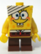 Minifig No: bob016  Name: SpongeBob - Bandage on Head
