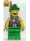Minifig No: cas004  Name: Dark Forest - Forestman 1