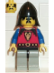 Minifig No: cas013  Name: Dragon Knights - Knight 1, Light Gray Legs with Black Hips, Black Neck-Protector